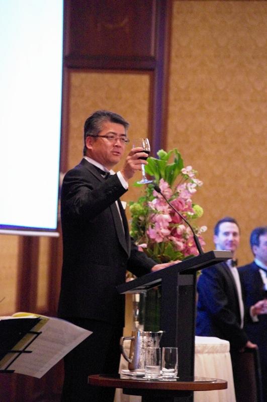 Mr Nishizawa at 2011 Spring Gala Dinner